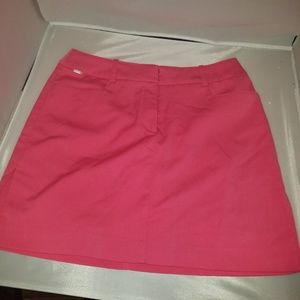 Izod Skirt Bright Pink with Built in Shorts